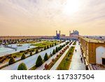 imam square viewed from ali... | Shutterstock . vector #117337504
