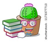 student with book mascot star...   Shutterstock .eps vector #1173377713