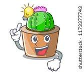 have an idea mascot star cactus ...   Shutterstock .eps vector #1173377743