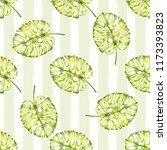watercolor seamless pattern.... | Shutterstock . vector #1173393823
