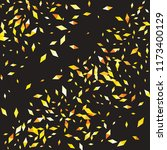 confetti of two colored rhombs... | Shutterstock .eps vector #1173400129