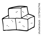 line drawing cartoon breeze...   Shutterstock .eps vector #1173416746