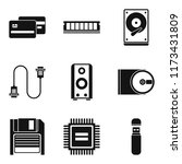 expert icons set. simple set of ...