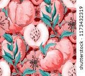 watercolor seamless pattern... | Shutterstock . vector #1173432319