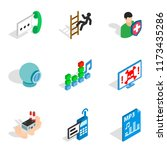computer designer icons set....