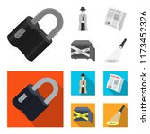 coded lock  the appearance of... | Shutterstock .eps vector #1173452326
