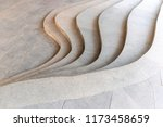 top view of modern curvilinear... | Shutterstock . vector #1173458659