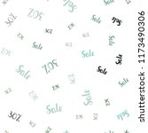 light blue  green vector... | Shutterstock .eps vector #1173490306