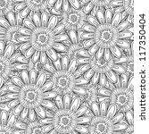 beautiful seamless pattern  ... | Shutterstock .eps vector #117350404