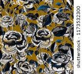 watercolor seamless pattern... | Shutterstock . vector #1173532300