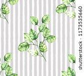 watercolor seamless pattern. a... | Shutterstock . vector #1173535660