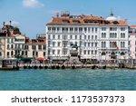 promenade riva degli schiavoni  ... | Shutterstock . vector #1173537373