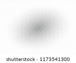 abstract halftone wave dotted... | Shutterstock .eps vector #1173541300
