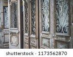 beatiful old doors of jaffa ... | Shutterstock . vector #1173562870
