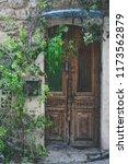 beatiful old doors of jaffa ... | Shutterstock . vector #1173562879