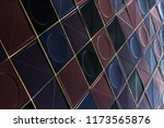 abstract modern architecture... | Shutterstock . vector #1173565876