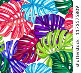 vector seamless pattern with... | Shutterstock .eps vector #1173575809