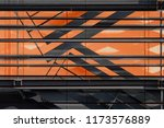abstract modern architecture... | Shutterstock . vector #1173576889