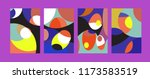 vector abstract colorful... | Shutterstock .eps vector #1173583519
