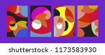vector abstract colorful...   Shutterstock .eps vector #1173583930