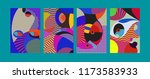 vector abstract colorful...   Shutterstock .eps vector #1173583933