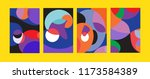 vector abstract colorful...   Shutterstock .eps vector #1173584389