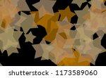 multicolored translucent stars... | Shutterstock . vector #1173589060