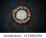 bird infant nest fantasy... | Shutterstock . vector #1173602296