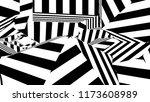 black and white stripes.... | Shutterstock . vector #1173608989