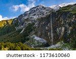 mount aspiring national park ... | Shutterstock . vector #1173610060