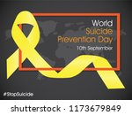 world suicide prevention day | Shutterstock .eps vector #1173679849
