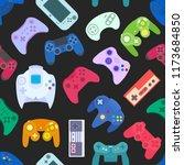 video game controller... | Shutterstock . vector #1173684850