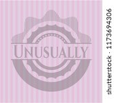 unusually realistic pink emblem | Shutterstock .eps vector #1173694306