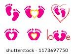 baby coming soon baby gender... | Shutterstock .eps vector #1173697750