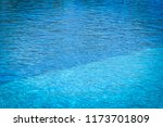 pool water surface texture  ... | Shutterstock . vector #1173701809