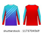 uniforms for competitions  team ... | Shutterstock .eps vector #1173704569