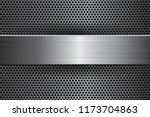 metal background with... | Shutterstock .eps vector #1173704863