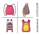 vector illustration with...   Shutterstock .eps vector #1173711190