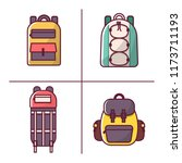 vector illustration with...   Shutterstock .eps vector #1173711193