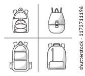vector illustration with...   Shutterstock .eps vector #1173711196