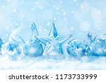 winter background with snow.... | Shutterstock . vector #1173733999