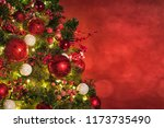 christmas light. christmas and... | Shutterstock . vector #1173735490