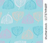 floral seamless pattern. | Shutterstock .eps vector #1173749689