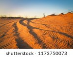 motocross and auto sport track... | Shutterstock . vector #1173750073