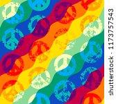 seamless vector pattern.... | Shutterstock .eps vector #1173757543