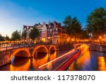 Amsterdam Canal And Light...