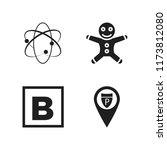 elements icon. 4 elements...
