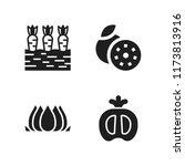 macro icon. 4 macro vector... | Shutterstock .eps vector #1173813916