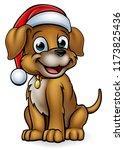 a pet dog cartoon character... | Shutterstock . vector #1173825436