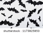 halloween and decoration... | Shutterstock . vector #1173825853
